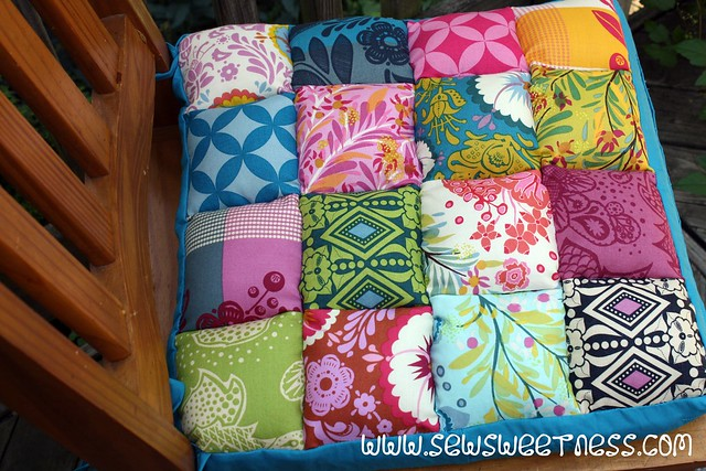 Tutorial: Junk in the Trunk Chair Cushions