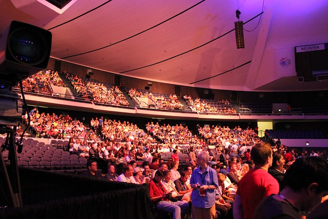 D23 Expo Arena crowd