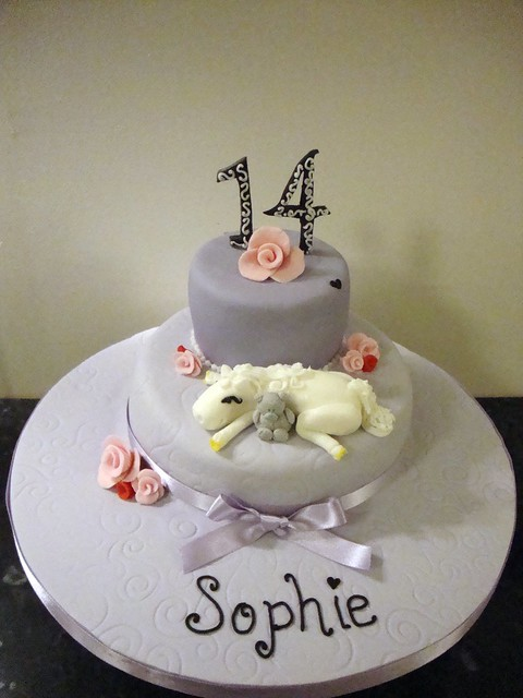 Girls 14th birthday cake | Explore Lisa-Jane Fothergill's ...