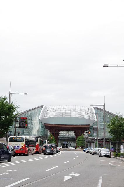 Kanazawa station dome