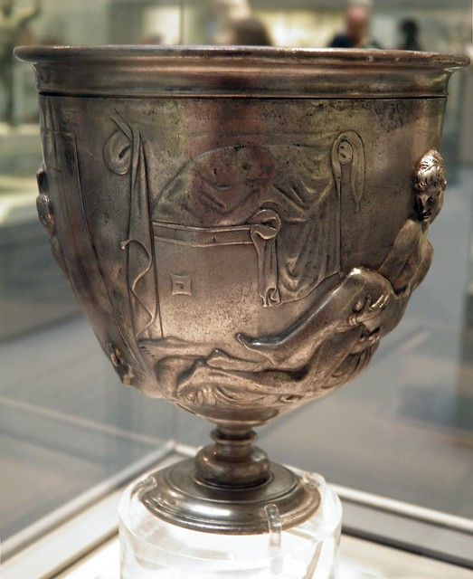 Warren Cup, full view, British Museum