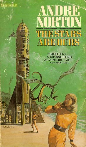 Stars are Ours - Andre Norton - cover artist Victor Kalin