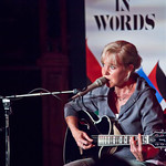 Kristin Hersh performing in the Spiegeltent |