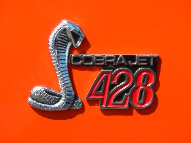Ford Shelby Mustang 428 Cobra Jet Emblem Flickr Photo