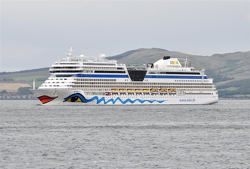 AIDABLU, cruise ship greenock scotland by Time Out Images
