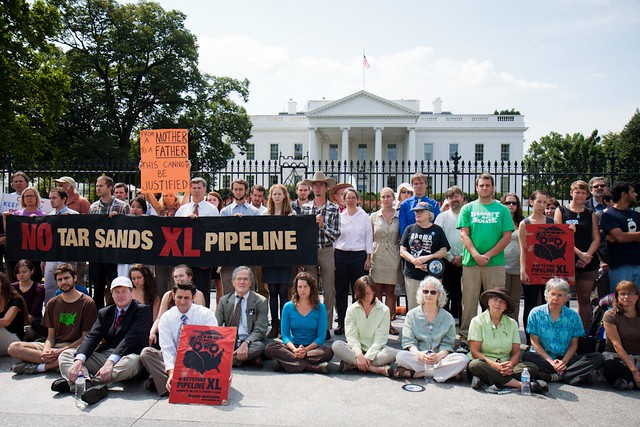 Keystone XL Protest