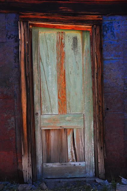Old Doorway in Bodie