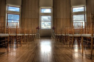 Museum of nature Wedding set-up