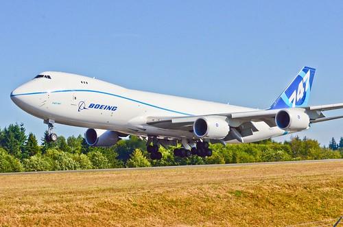 BOE522 Boeing B747-8 Freighter Flair