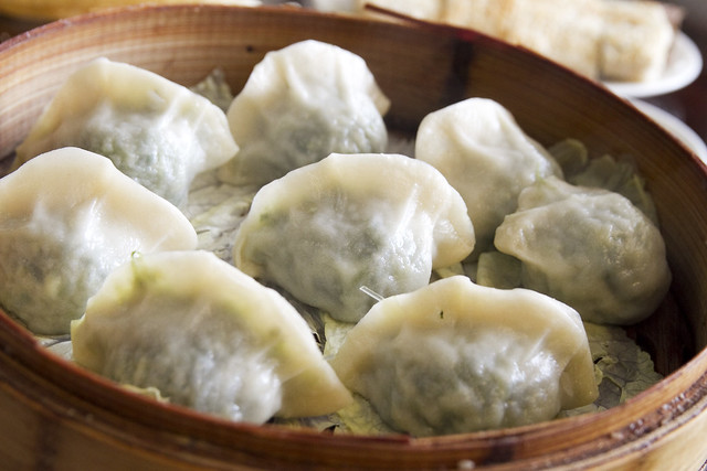 steamed vegetable dumplings | No. 1 East | By: roboppy | Flickr ...