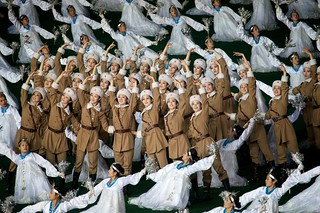 Sexy Soldiers Arirang Mass Games - North Korea