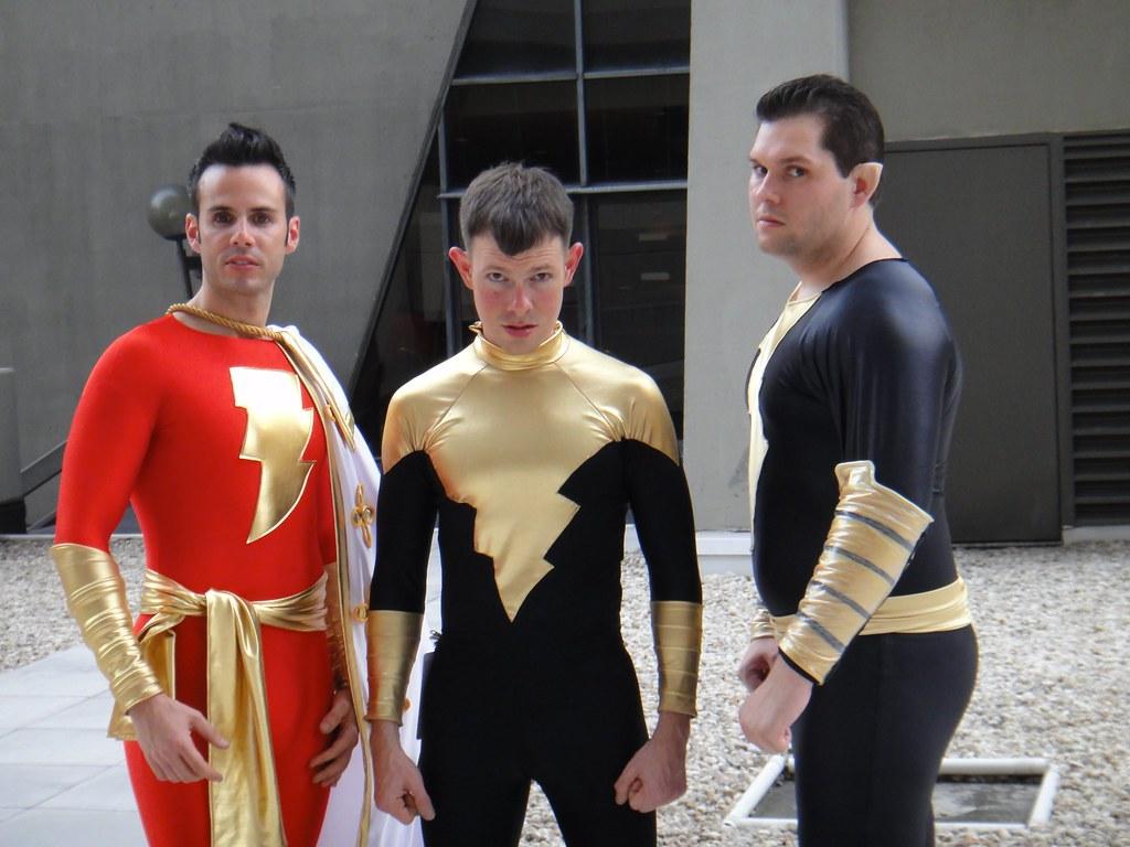 Osiris Cosplay Costume Gay Geek Geeks Captain Marvel Black Flickr
