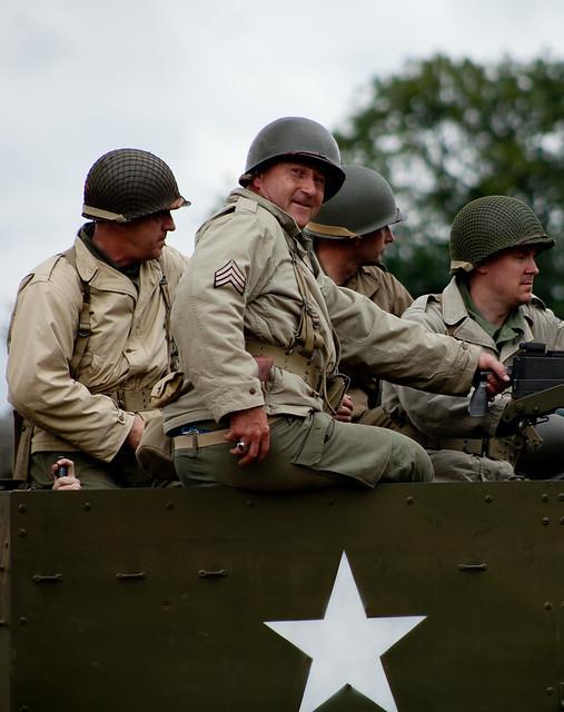 Header of American Soldiers