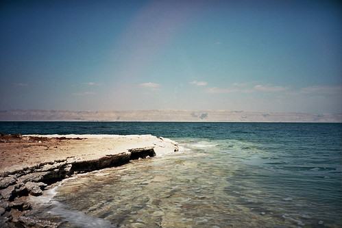 sea costa film lomo lca lomography mare kodak sale salt middleeast jordan saltlake shore deadsea mediooriente giordania marmorto lagosalato hypersalinelake ektar100