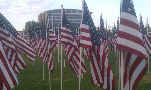 9/11 Healing Field in Tempe #neverforget