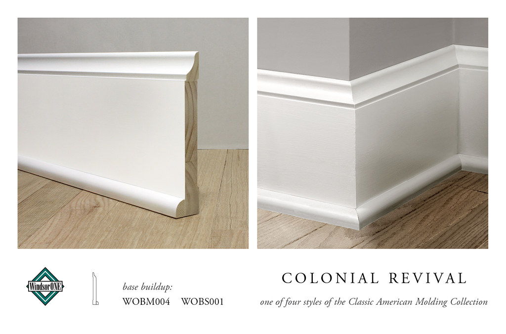 Colonial Revival Base Molding Flickr Photo Sharing