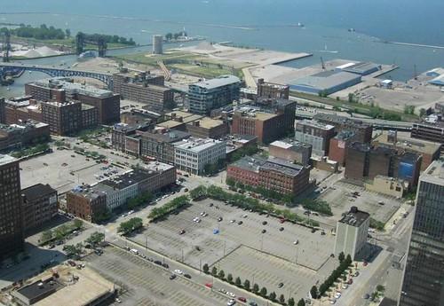 Cleveland, today (via Angie Schmitt & Kate Giammarise, rustwire.com)