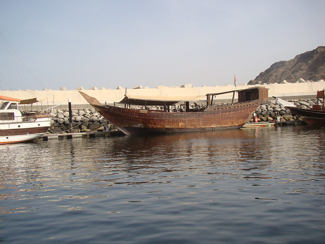 The old Boats of Oman- Uru