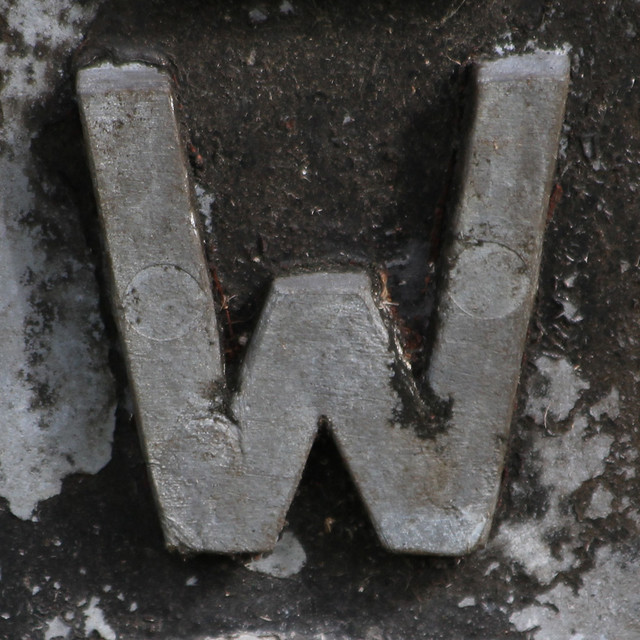 Letter W Flickr Photo Sharing