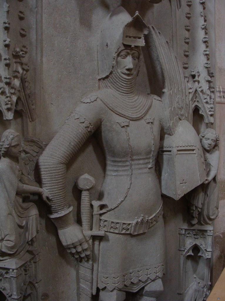 ca. 1357-1370 - 'count Johann II von Katzenelnbogen (+1357)', Kloster Eberbach, Hattenheim, Eltville am Rhein, Hessen, Germany