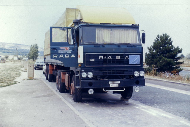 Raba S22 tracteur 6X2