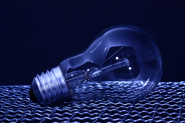 light bulb / Glühbirne