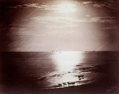 The Sun at its Zenith, Normandy, 1856, by Gustave Le Gray