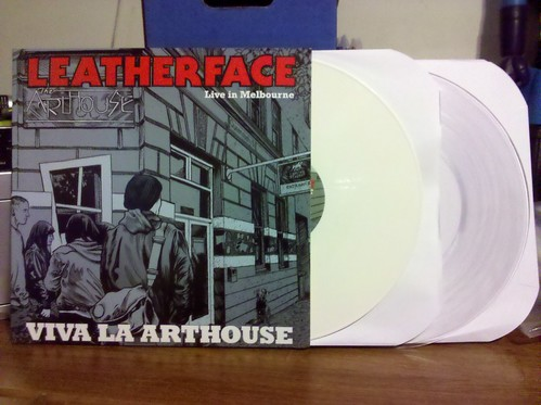 Leatherface - Viva La Arthouse: Live In Melbourne 2xLP - US Version, White & Clear Vinyl