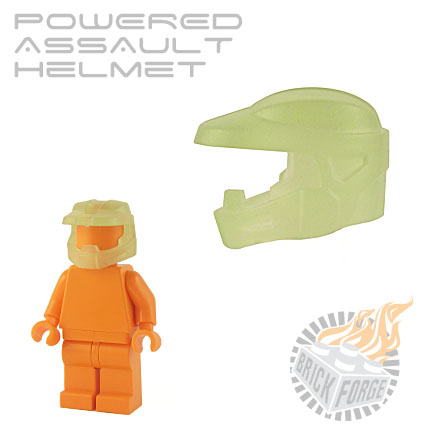 Powered Assault Helmet - Glow in the Dark