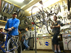 Big Wild Ride 1200K Bicycle Inspection @ Speedway Cycles