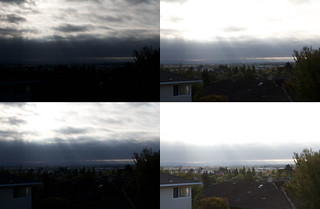 "HDR: 4 Photos to create ""Sunrise in Suburbia V1"""