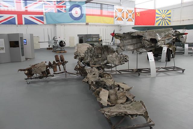 Wrack einer Me-109E-3