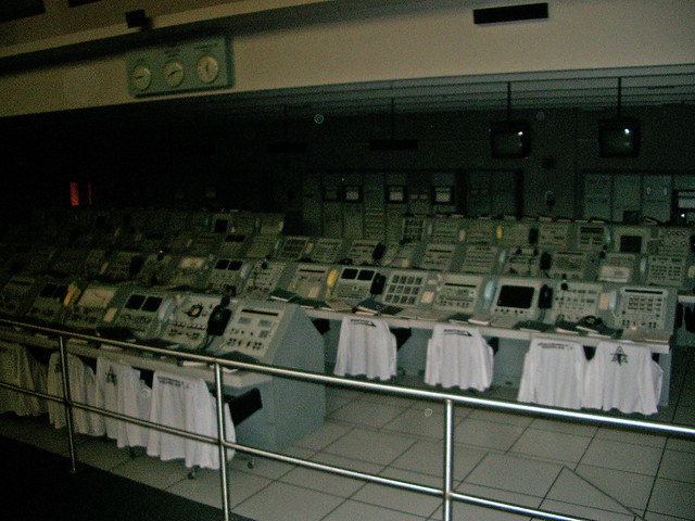 Mission Control for Apollo 8, Kennedy Space Center ...