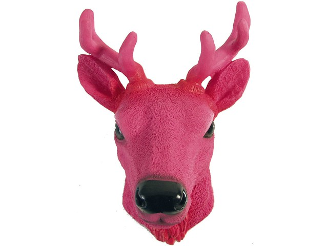 deer head logo pink - photo #14
