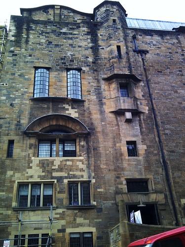 Eastern elevation, Glasgow School of Art