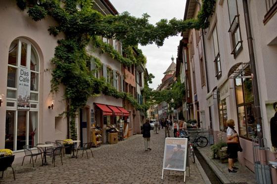 Konviktstrasse, Freiburg, photo via carto.net