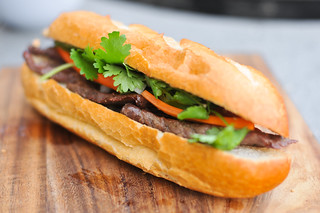 Vietnamese Steak Banh Mi