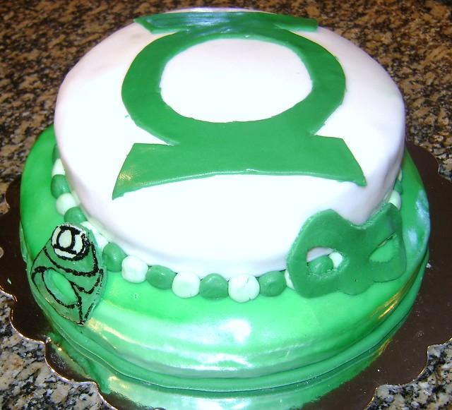 Green Lantern Cake  Flickr - Photo Sharing!