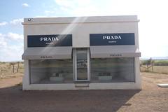 Fake Prada store