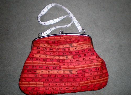 Tape Measure Handbag 1