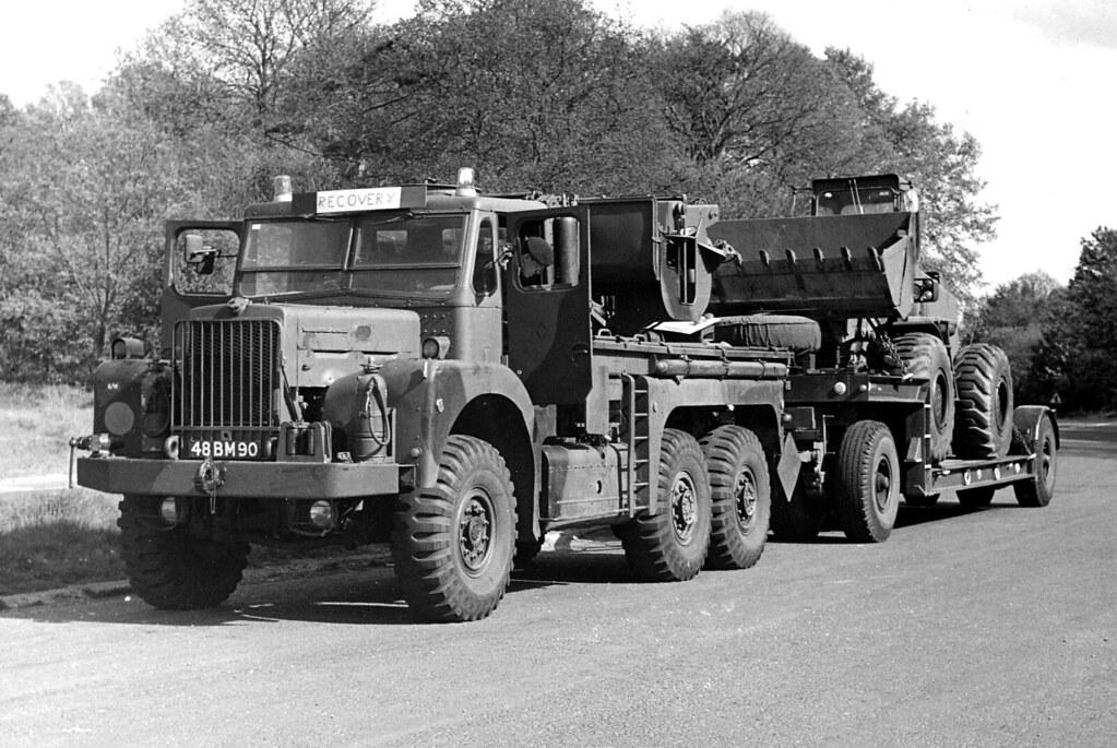 Leyland Martian FV1119 Heavy Recovery 48 BM 90