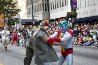 Captain Planet fights