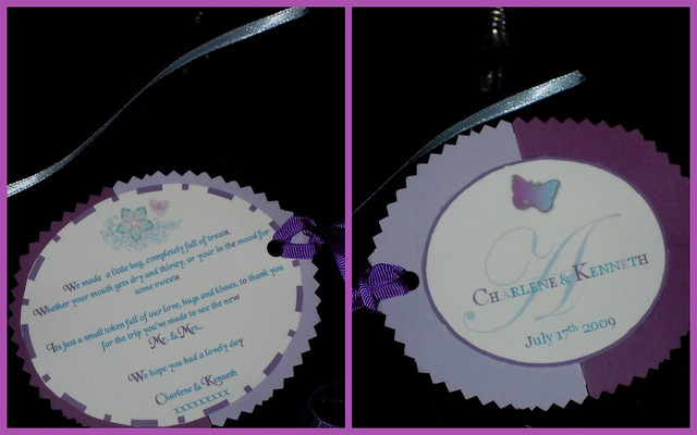 My little wedding gift bag labels Flickr - Photo Sharing!