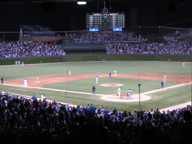 Wrigley Field from Flickr via Wylio