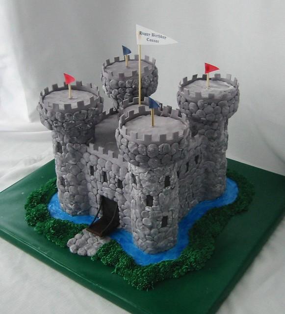 Medieval Castle Birthday Cake