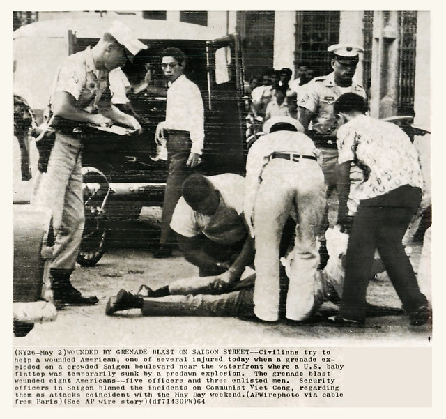 1964 Terrorist Attacks in Saigon