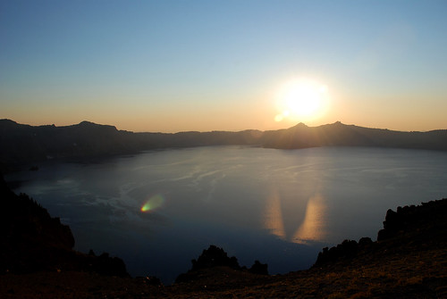 sunsets galore, crater lake, OR