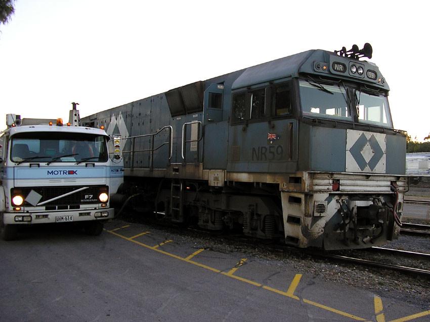 NR 59 being refueled, Keswick Terminus by baytram366