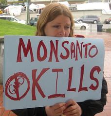 Seattle's Say no to Monsanto's GMOs Rally!