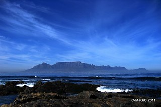 a most magnificent view from Robben Island